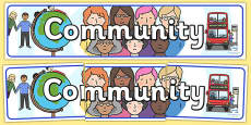 Community Display Banner