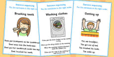 4 Step Sequencing Cards