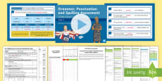 SATs Survival Year 6:  Grammar, Punctuation and Spelling Test 4 Bumper Assessment Resource Pack