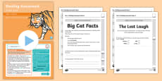 * NEW * Year 1 Term 1 Paper 1 Reading Assessment Guided Lesson Teaching Pack