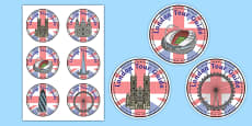 London Tour Guide Role Play Badge