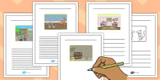 The Town Mouse and the Country Mouse Story Writing Frames