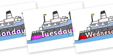 Days of the Week on Boats