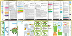 EYFS Dinosaurs Adult Input Planning and Resource Pack