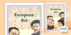 PlanIt - Art LKS2 - European Art Unit Book Cover