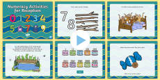 Reception Numeracy Activities PowerPoint