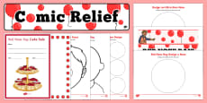 * NEW * Comic Relief Red Nose Day Resource Pack