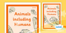PlanIt - Science Year 4 - Animals Including Humans Unit Book Cover