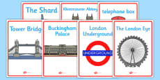 London Display Posters