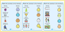 Emotions Activity Activity Sheets