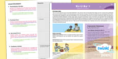 PlanIt - History LKS2 - World War II Planning Overview