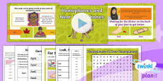 PlanIt Y3 Term 1A W5: Homophones and Near Homophones Spelling Pack