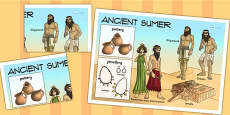 Ancient Sumer Large Display Poster