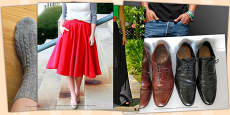 French Clothes 1 Photo Clip Art Pack