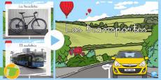 Presentación: El transporte - Fotos