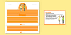 Foundation PE (Reception) Arch Builders Warm-Up Activity Card