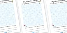 Invention Design Sheets