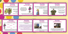 Themed KS2 Challenge Posters to Support Teaching on Matilda