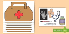 * NEW * Doctor's Bag Role-Play Pack