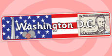 Washington DC Role Play Banner