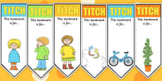 Editable Bookmarks to Support Teaching on Titch