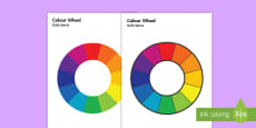 * NEW * Colour Wheel English/Polish