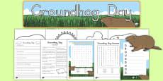 Groundhog Day Printable Pack