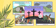 The Easter Story Sequencing Ordered Polish Translation
