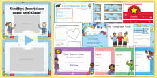 Kindergarten Graduation Resource Pack