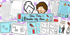 Australia - One Two Buckle My Shoe Resource Pack
