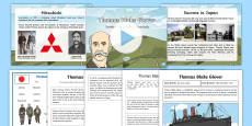 * NEW * Scottish Significant Individuals Thomas Blake Glover Resource Pack