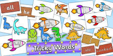 Tricky Words Resource Pack