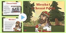 Mieszko I and the Baptism of Poland PowerPoint Polish