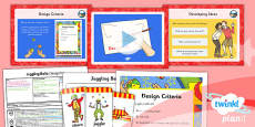 PlanIt - D&T LKS2 - Juggling Balls Lesson 2: Designing Lesson Pack