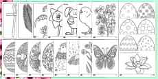 Spring Colouring Resource Pack