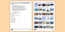Les voyages & le tourisme : Jeu pour pratiquer les temps