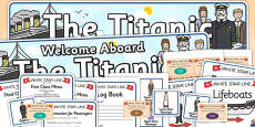 The Titanic Role Play Pack