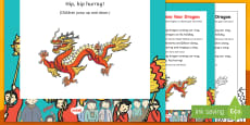 Chinese New Year Dragon Rhyme