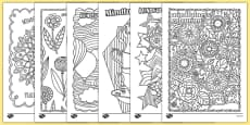 Adult Colouring Mindfulness Colouring Sheets Pack