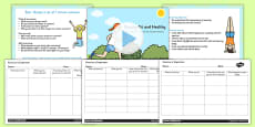 Exercise is Important KS1 Science Lesson Teaching Pack