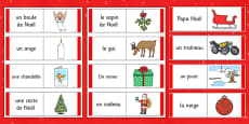 Christmas Loop Cards French
