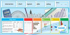* NEW * PlanIt Y3 Statistics Display Pack