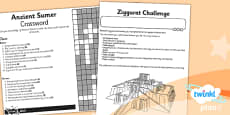 PlanIt - History UKS2 - Ancient Sumer Unit Home Learning Tasks