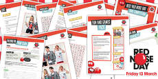 Red Nose Day 2015 Games Pack