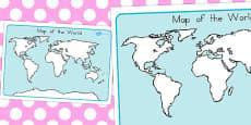 Australia - Map of the World