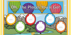 New Class Balloon Activity Display Pack English/German