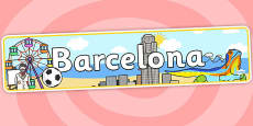 Barcelona Role Play Banner