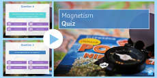 Magnetism Quiz PowerPoint