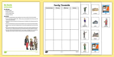 My Family Timetable Busy Bag Resource Pack for Parents