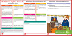 ROI Christmas Toy Shop Aistear Planning Template